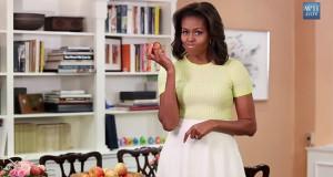 Michelle Obama, videomessaggio salutista dalla Casa Bianca