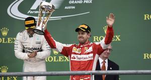 Ferrari, GP degli Stati Uniti: podio di grinta per Vettel