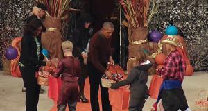Festa di Halloween con Barack Obama e la First Lady Michelle