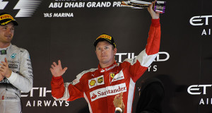 Formula 1, GP Abu Dhabi: Podio per Raikkonen