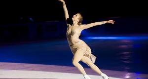 "Carolina Kostner star di ""Courmayeur on Ice"""