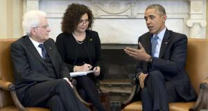 Il Presidente Mattarella incontra Barack Obama