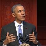 Obama in moschea, per la prima volta
