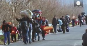 Migranti bloccati in Grecia