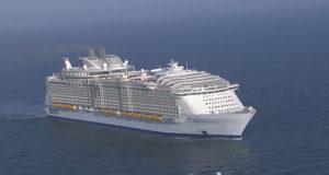 La nave da crociera piu grande al mondo
