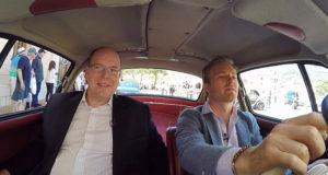 A spasso per Monaco con Nico Rosberg e il principe Alberto