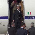 Marò, Salvatore Girone è arrivato in Italia