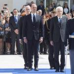 Il Presidente Sergio Mattarella alla Festa della Polizia di Stato