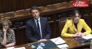 Di Battista attacca Renzi in Parlamento