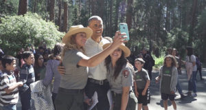 La vacanza di Obama nel Parco Nazionale di Yosemite