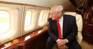 L'aereo privato di Donald Trump