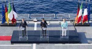 Vertice a Ventotene con Renzi, Hollande e Merkel