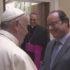Papa Francesco incontra il presidente francese Hollande