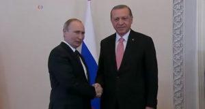 L'incontro tra Putin e Erdogan
