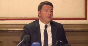 Matteo Renzi - Conferenza stampa