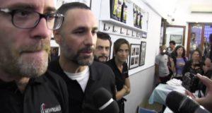Raoul Bova e Valerio Mastandrea camerieri per solidarietà