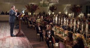 Renzi e la moglie alla cena di Stato alla Casa Bianca