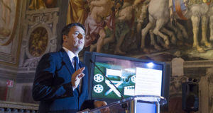 Matteo Renzi presenta la nuova Legge sul Cinema