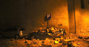 Terremoto Centro Italia - Immagini di Camerino