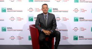 Tom Hanks alal Festa del Cinema di Romaiera al festival di Roma