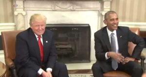 Trump e Obama si incontrano alla Casa Bianca
