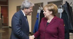 Gentiloni a Bruxelles per la questione immigrazione