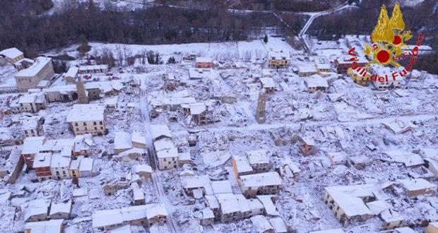 Neve e gelo in tutta italia