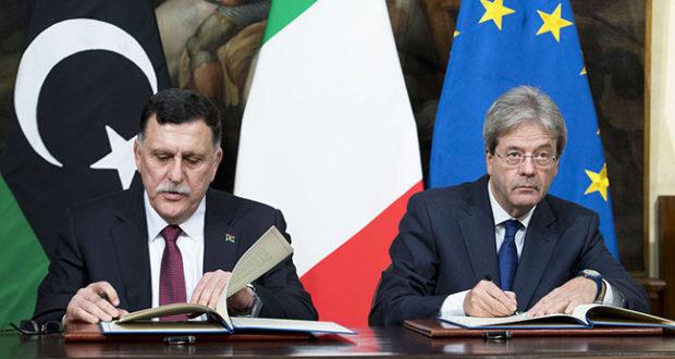 Incontro di Gentiloni con il Primo Ministro libico