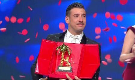 Sanremo 2017, il trionfo di Francesco Gabbani