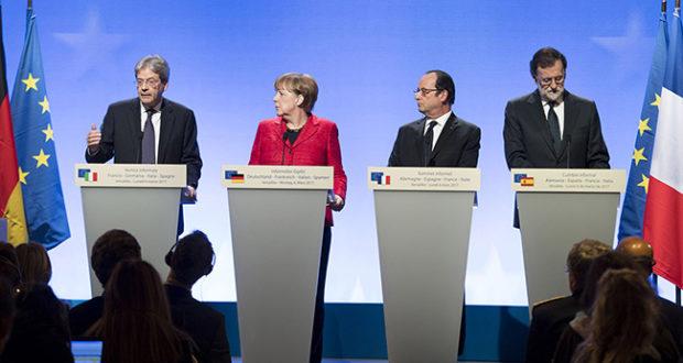 Gentiloni a Versailles al vertice dei capi di Stato e di Governo
