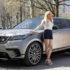 Ellie Goulding presenta la nuova Range Rover Velar
