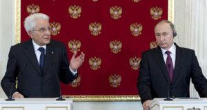 Il Presidente Sergio Mattarella incontra Putin
