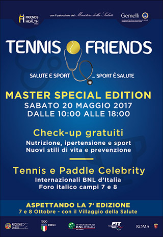 Tennis and Friends Master Special Edition