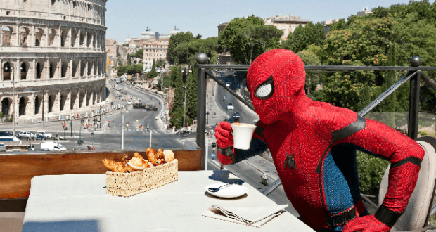 Spider-Man in vacanza a Roma