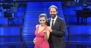 Serena Rossi e Neri Marcorè