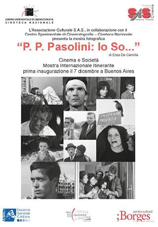 P.P. Pasolini: Io So…