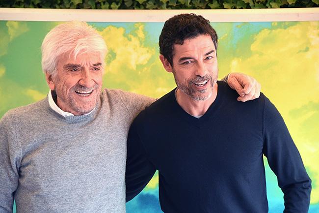 Gigi Proietti e Alessandro Gassmann