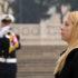 Giorgia Meloni all'Altare della Patria depone corona di fiori